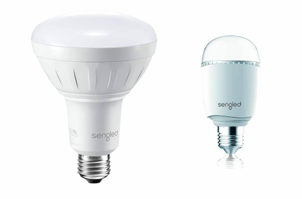MED WIFI: Boost-lyspærene fra Sengled kan forsterke WiFi-signalet hjemme hos deg. Foto: SENGLED