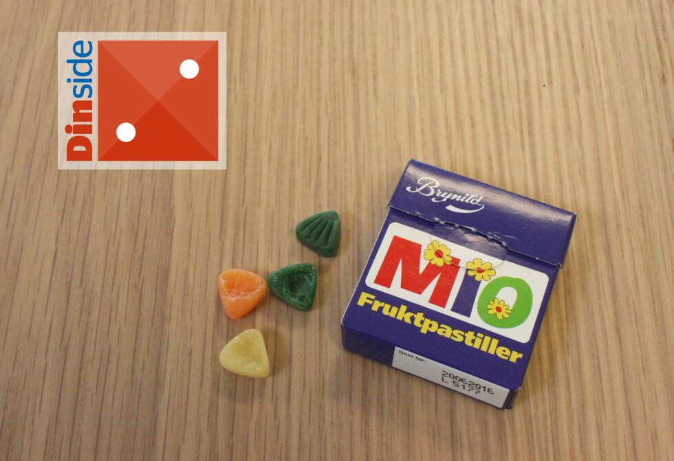 MIO: Det smaker barndom, men det smaker dessverre ikke spesielt godt. Foto: MERETHE HOMMELSGÅRD