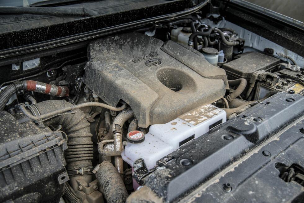 STERK OG USLITELIG: Med 177 hk og 350 Nm ikke motoren akkurat sprek, men likevel råsterk.   Foto: Jamieson Pothecary