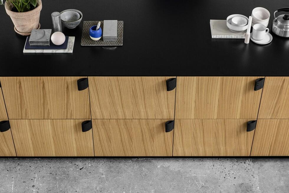 DANSK DESIGN TIL IKEA-KJØKKENET DITT? Danske Reform har spesialisert seg på å levere danske designerfronter til Ikea-kjøkken. Dette er designet av BIG – Bjarke Ingels Group. Foto: REFORM