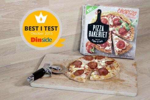 BEST I TEST: Nykommer med luftig og fin bunn, og kraftig smak. Foto: OLE PETTER BAUGERØD STOKKE