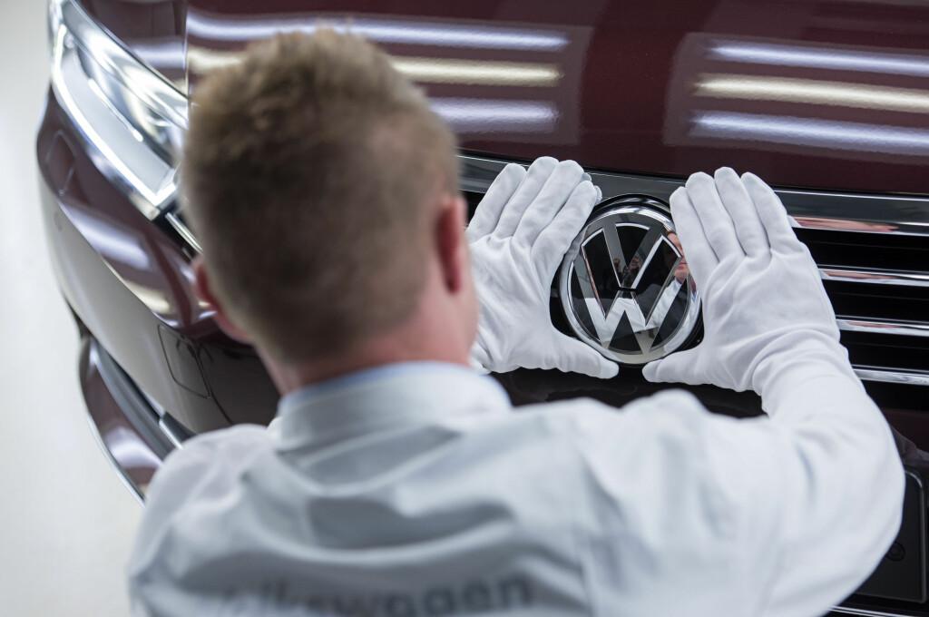<b>TALLENE KLARE:</b> Totalt blir 147.139 biler tilbakekalt. Det gjelder merkene Volkswagen, Audi og SKODA. Foto: NTB SCANPIX/Ap