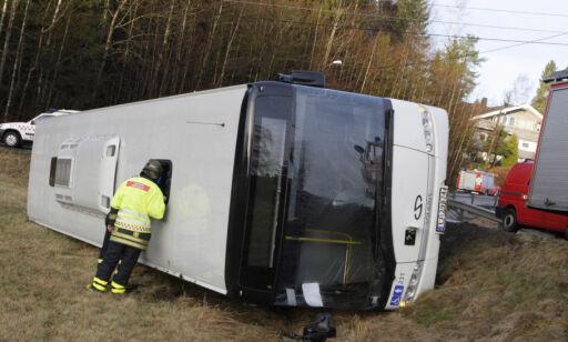 image: Du dropper vel ikke belte i bussen?