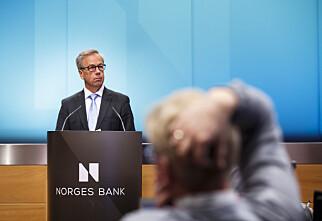 Historisk lav rente fra Norges Bank