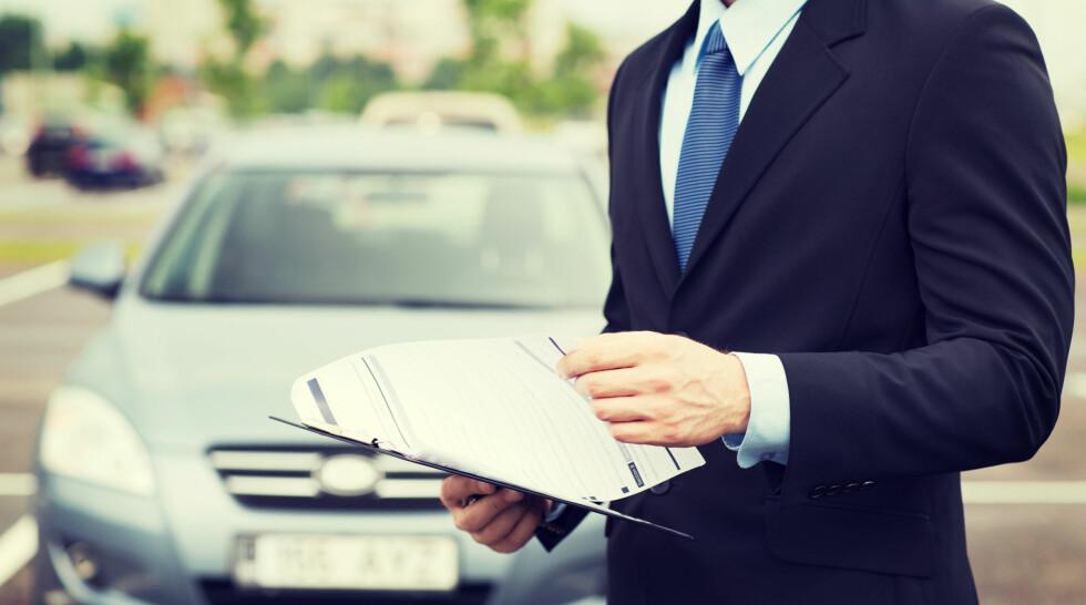 TA VARE PÅ BILEN: Husk at selvom du kan bruke leasingbilen som din egen, skal den også takseres når den leveres. Foto: FOTOLIA / NTB SCANPIX