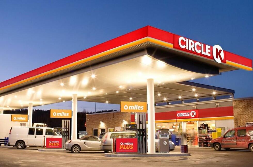 NYTT NAVN:  Statoil-stasjonene vil nå få navnet Circle K. Foto: STATOIL FUEL & RETAIL