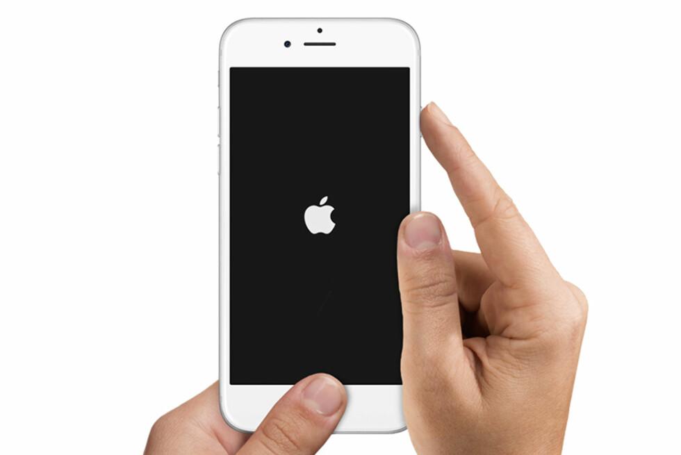 NYTT OPERATIVSYSTEM: Nå kan du oppdatere din iPhone eller iPad til iOS 9. Foto: APPLE