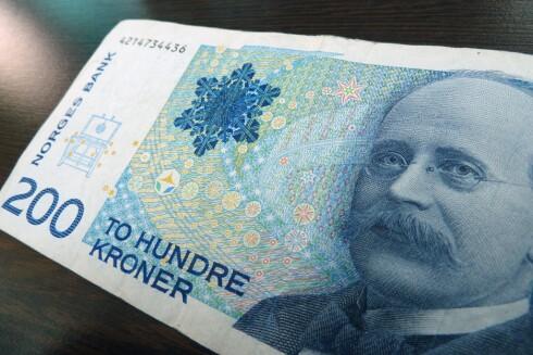 FOR LAVT:  Du kan se langt etter pengene dine hvis beløpet staten skylder er under 200 kroner.  Foto: JAN OVIND / VG / NTB SCANPIX