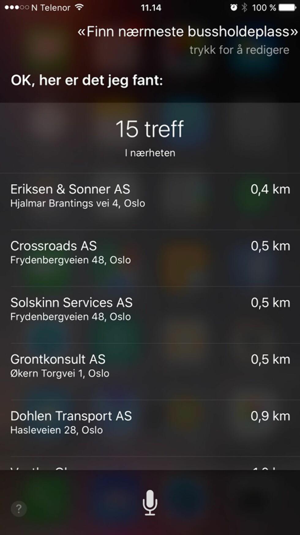 TEST: Siri på norsk (iOS 9)