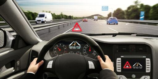 image: Biler i feil kjørebane?