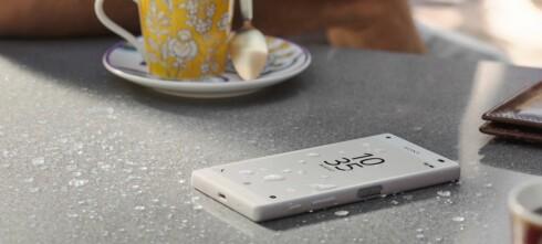 Er Sony Xperia Z5-telefonene vanntette?