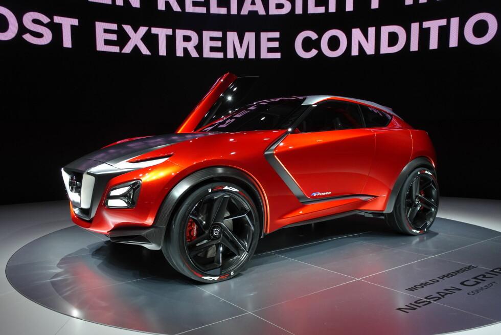 COUPÈ PÅ TÅ: Flere bilprodusenter har tro på Crossover-coupeer, men det er få som har lykkes med høye salgstall. Foto: FRED MAGNE SKILLEBÆK