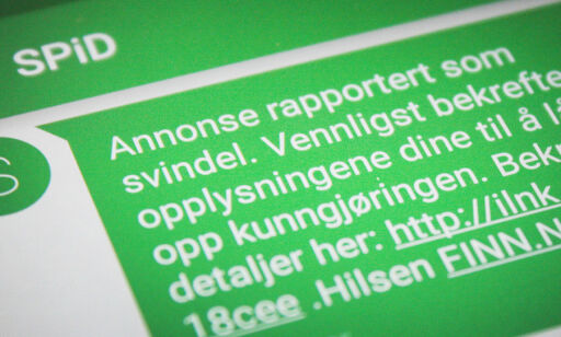image: Finn.no-selgere rammes av storstilt SMS-svindel