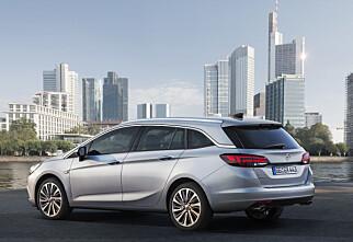 Ny Opel Astra stasjonsvogn