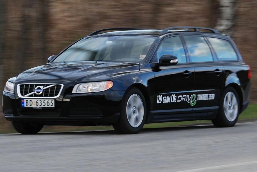 PÅ TOPP: Volvo V70 fra 2007 kommer best ut, ifølge det svenske forsikringsselskapet Folksam. Foto: CATO STEINSVÅG