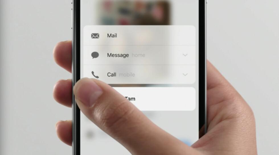 Apple lanserte iPhone 6S og 6S Plus