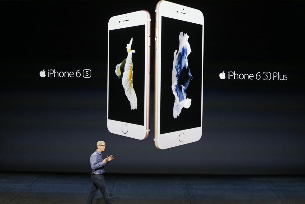 LANSERT: Apples nye iPhone-modeller, 6S og 6S Plus. Foto: BECK DIEFENBACH / REUTERS