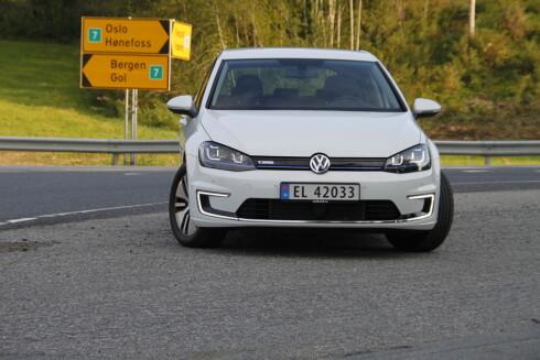 BESTSELGER: e-Golf er landets mest solgte bil med 6.241 eksemplarer registrert så langt i år.  Foto: RUNE M. NESHEIM