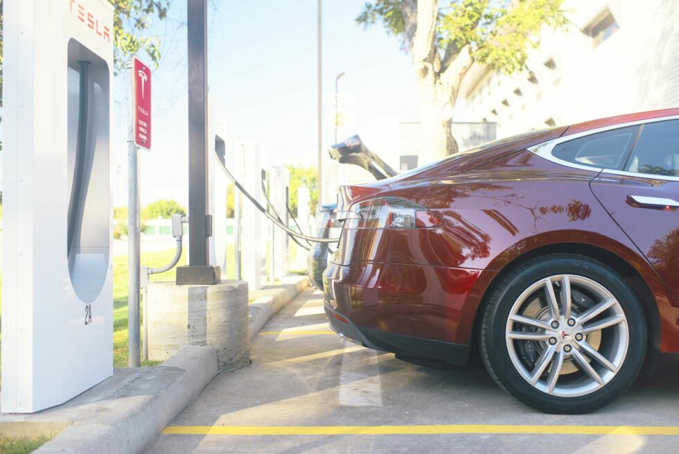 BEST ETTER USA: Norge er det beste markedet for Tesla etter USA.  Foto: TESLA
