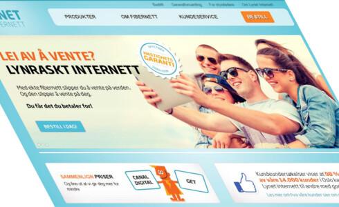 FORTSATT OPPE: Lynet tilbyr bredbånd til Oslo-folk. De er ikke pålagt å sperre. Foto: LYNET
