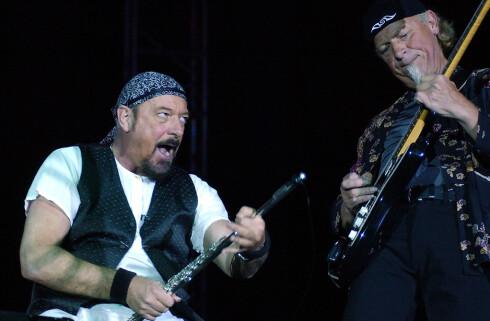 gamle: Jethro Tull hadde sin storhetstid på 1970-tallet, og er blant artistene som fortsatt lastes ned. Foto: NTB SCANPIX