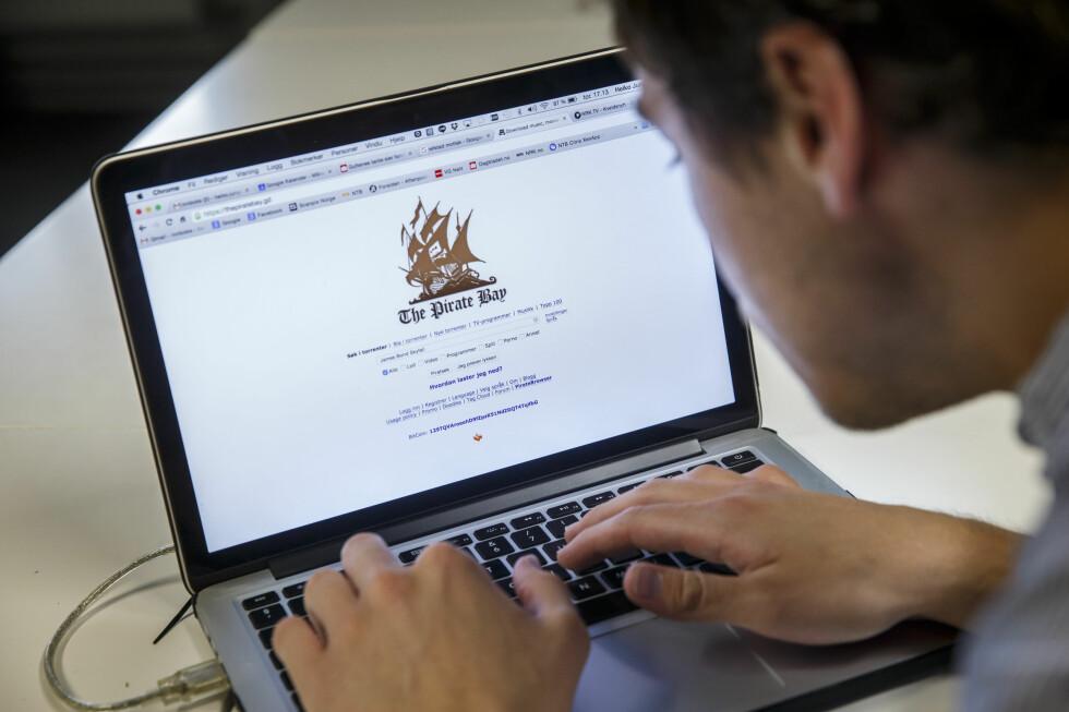 IKKE EFFEKTIVT: The Pirate Bay trenger bare å betale 125 kroner for å unngå den norske blokaden. Og nordmenn som er stengt ute kan lett få tak i piratvarer andre steder. Foto: NTB SCANPIX