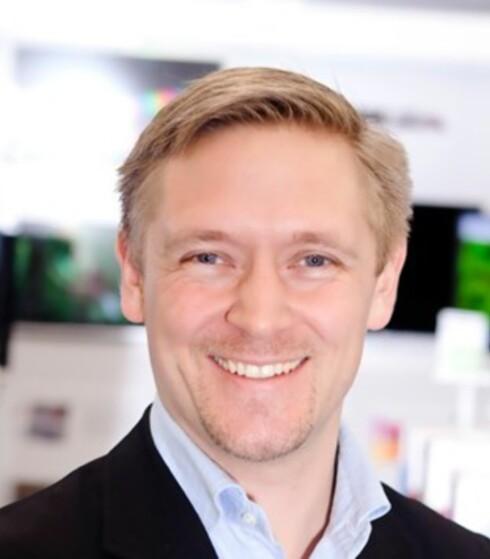 Andreas Westgård hos Elkjøp. Foto: Elkjøp