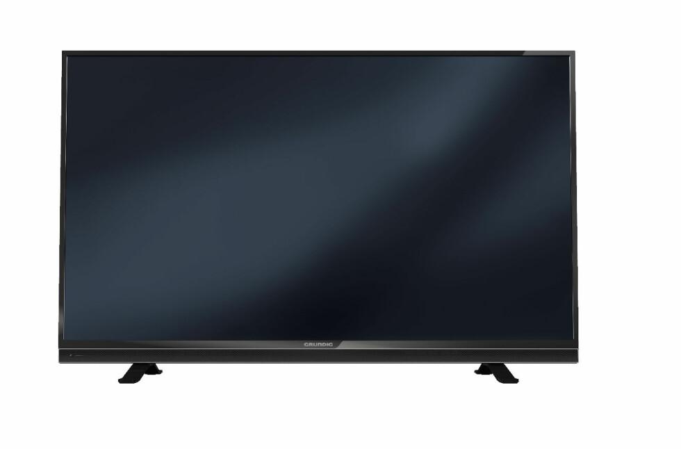 SLIK SER DEN UT: TV-en uten tuner som skal selges gjennom Elkjøp-kjeden, er produsert av tyske Grundig. Foto: Grundig