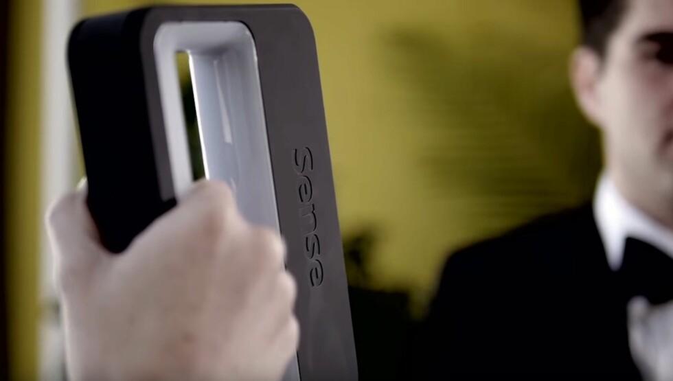BILLIGLØSNING: Den håndholdte 3D-skanneren Sense får du for under 4.000 kroner i norske nettbutikker. Foto: 3DSYSTEMS