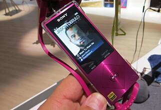Sony gir ikke opp Walkman