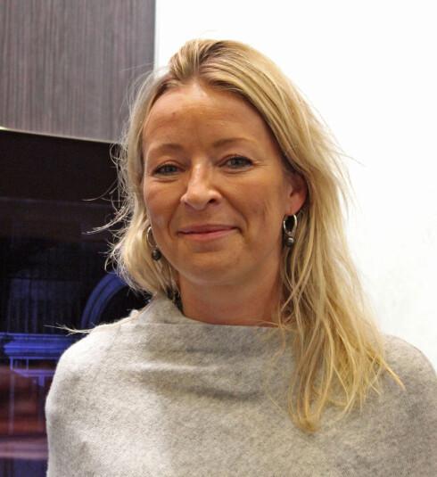 Åshild Indresøvde, kommunikasjonsdirektør i Elkjøp Nordic. Foto: BJØRN EIRIK LOFTÅS