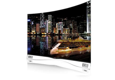 FÅR SELSKAP: LG 55EA980W var den første OLED-TV-en i vanlig salg. Nå er de ikke lenger alene på markedet. Foto: LG