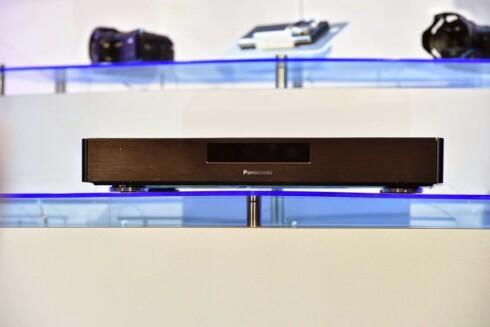 KOMMER? Panasonic har allerede vist fram sin første Blu-ray-spiller med 4K. Vil vi se både denne og flere andre på IFA? Foto: PANASONIC