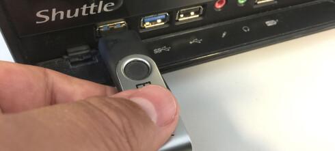 Unngå risikoene ved USB-lagring