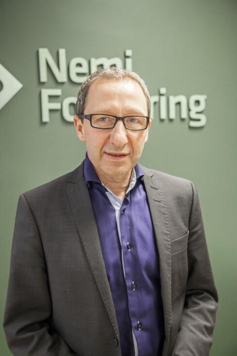 HAR SIN FORKLARING: Det er naturlig at det krasjes mest i byene, forklarer Nemi-direktør Hesselberg-Meyer. Foto: NEMI FORSIKRING
