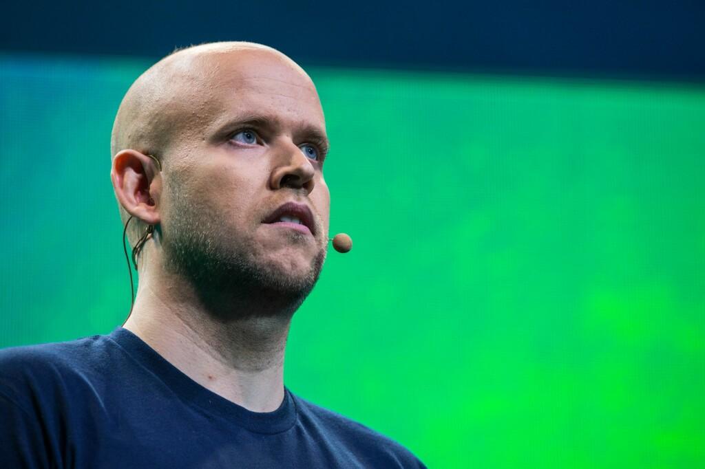 <strong>BRÅK:</strong> Det er blitt bråk rundt Spotify og Daniel Ek etter at selskapet oppdaterte personvernspolitikken til den populære musikktjenesten. Foto: SCANPIX