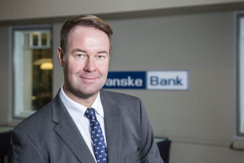 FORHÅPNINGSFULL:  Trond Mellingsæter i Danske Bank håper banken vil nyte godt av den nye mobilbetalings-appen. Foto: DANSKE BANK