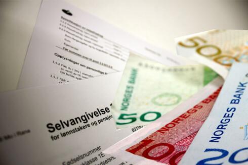 7,4 MILLIARDER: Det er hvor mye 530.000 nordmenn nå må betale tilbake. Foto: KIM JANSSON