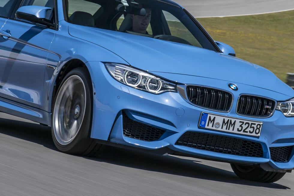 KJØREMASKIN: BMW er kompromissløse når det gjelder M3 og M4. Det skal være de mest potente modellene i M-programmet.  Foto: BMW