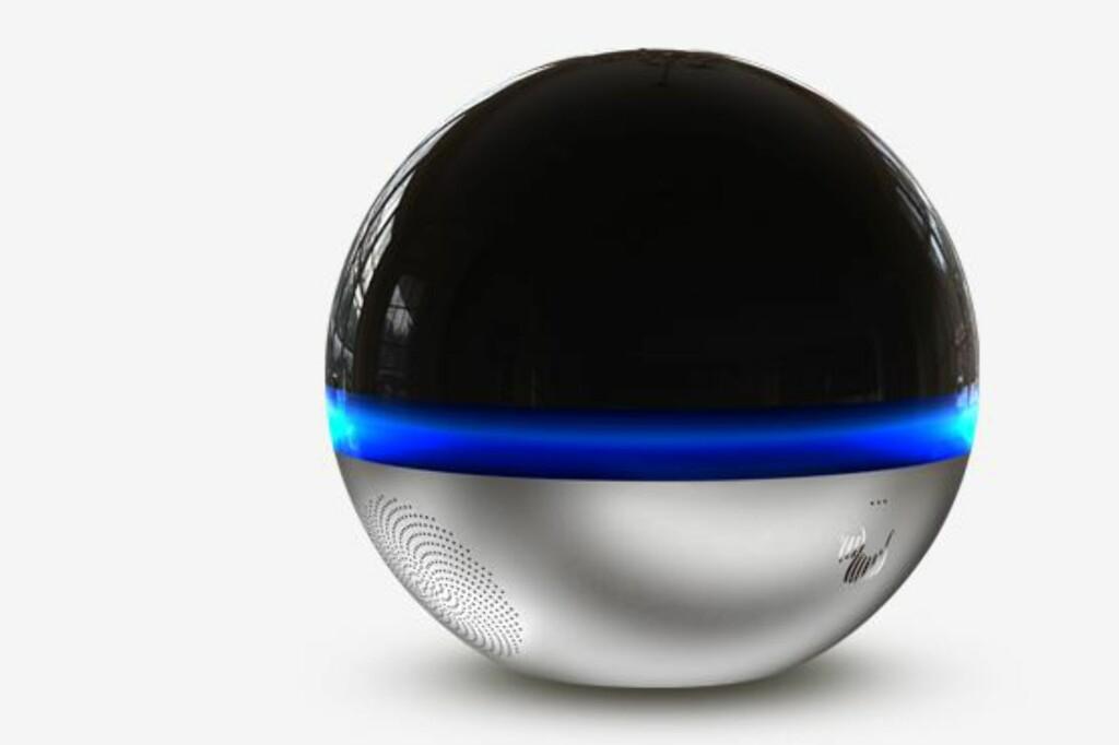 <B>ALLSIDIG:</B> Branto er i utgangspunktet et 360 graders overvåkingskamera, men kan veldig mye mer. Foto: BRANTO