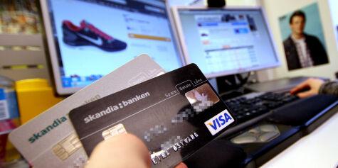 image: Ditt vanlige visakort er bra nok på nett