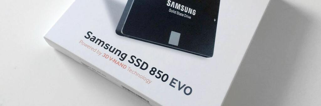 <B>NØKKELEN TIL RASK PC</B>: En SSD av god kvalitet med 250 GB kapasitet koster rundt 1000 kroner. Kombinert med nyinstallasjon av Windows 10 er det etter vår mening ofte den smarteste oppgraderingen du kan gjøre. Foto: BJØRN EIRIK LOFTÅS