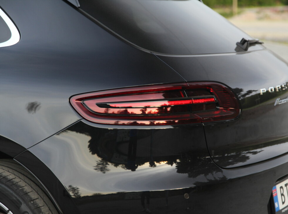 LEKKER HEKK: Macans hekk er blant Porsches lekreste.  Foto: KNUT ARNE MARCUSSEN