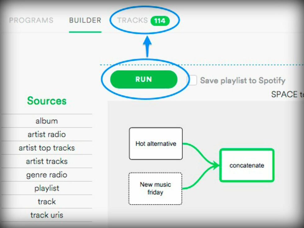 Lag smarte Spotify-spillelister