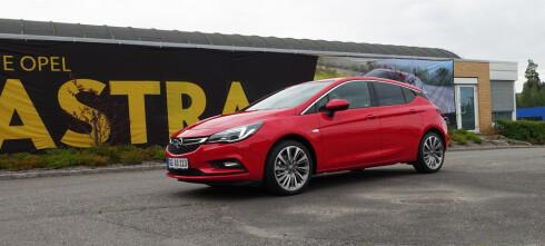 Opel Astra lanseres til hyggelig pris
