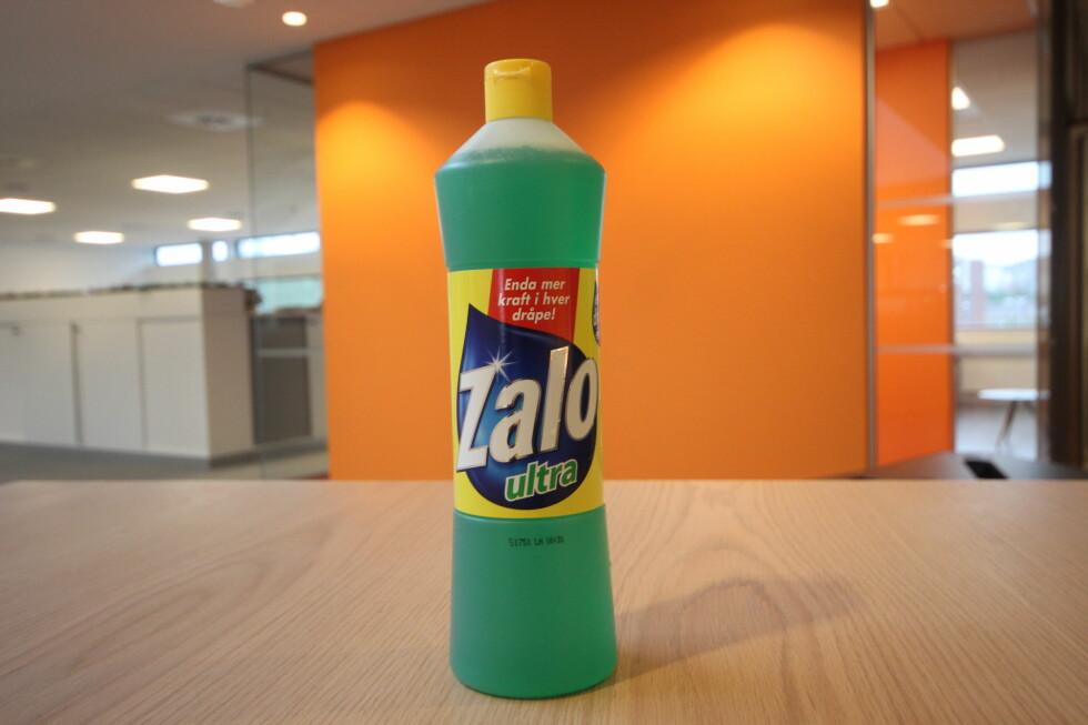 IKKE NOK:  Zalo kan fjerne mye, men når ikke til topps i denne testen. Foto: HANNA SIKKELAND