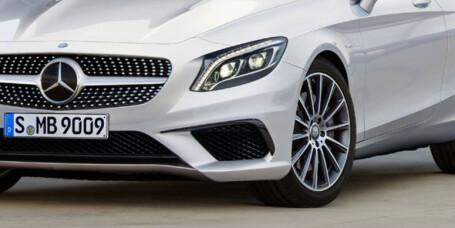 Mercedes-Benz S-klasse kommer som kabriolet