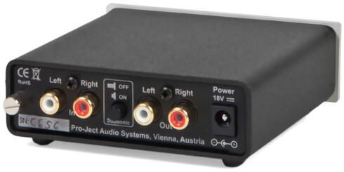 RIIA-TRINN For å få riktig lyd trenger du en ekstra forsterker. Foto: SOUNDGARDEN