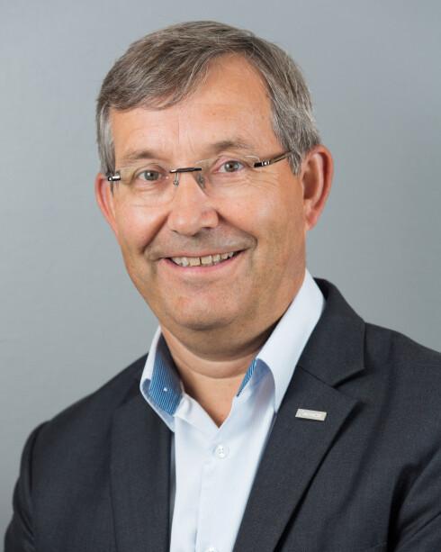 Øyvind Hasaas,  administrerende direktør ved Oslo Lufthavn. Foto: OSLO LUFTHAVN AS/ESPEN SOLLI