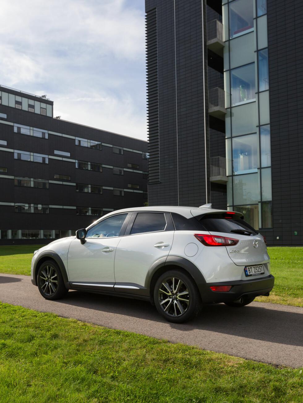 <strong><b>VOKSENDE MARKED:</strong></b> Mazda kommer godt  inn i et voksende marked, både når det gjelder pris og størrelse.  Foto: KASPER VAN WALLINGA